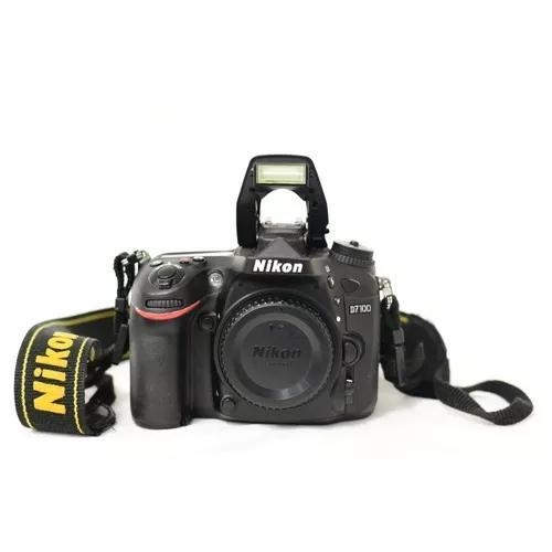 Camera fotográfica digital nikon d 7100 - perfeito estado