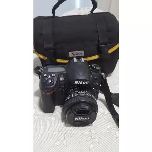 Camera nikon d7000 completa + lente 35mm af f/2d nikon