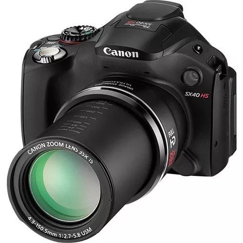 Câmera canon powershot sx40 hs + cartão m