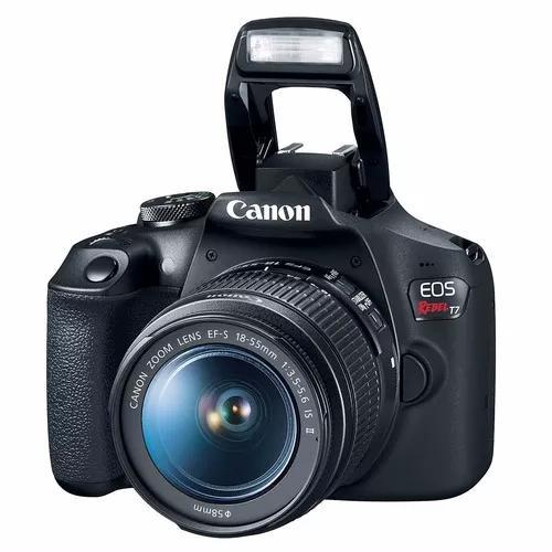 Câmera canon t7 com lente 18-55mm garantia canon nota