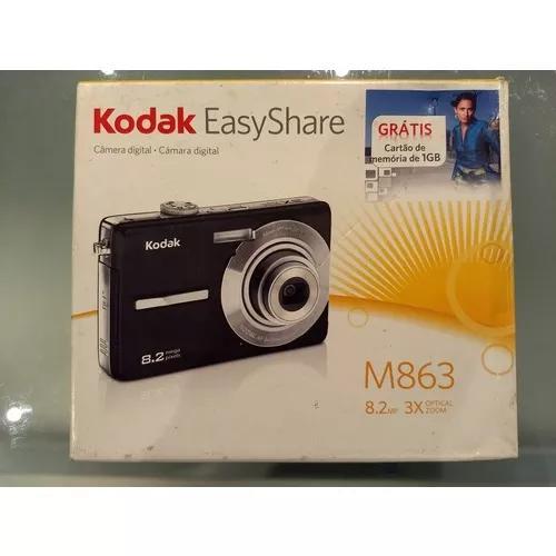 Câmera digital kodak easyshare m863