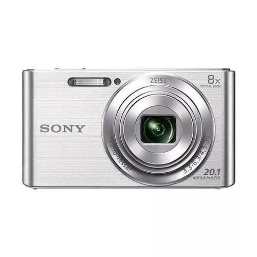 Câmera fotográfica sony dsc-w830 20.1mp (01 ano de