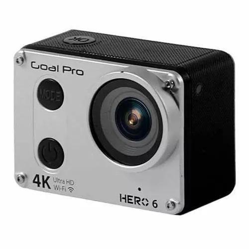 Câmera goal pro hero 6 4k wi-fi cartão 32 gb grátis