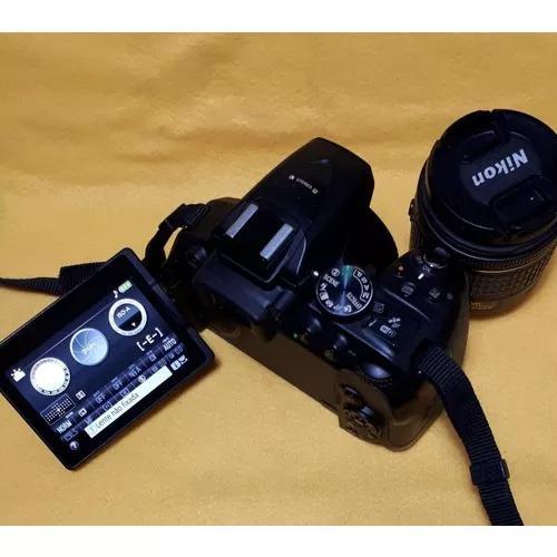 Câmera nikon d5300 + af-p nikkor dx vr 18-55mm