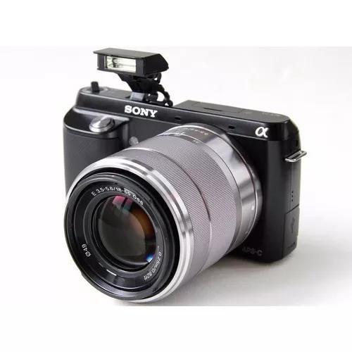 Câmera sony nex f3 s