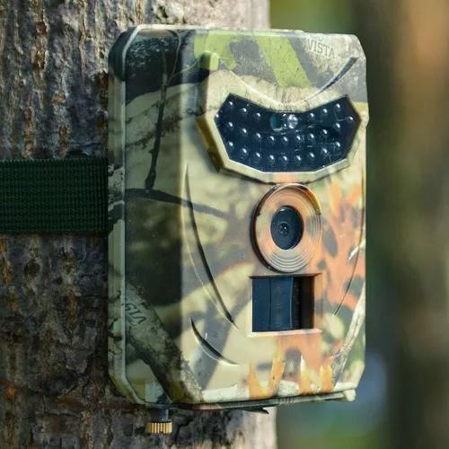 Câmera trilha caça foto vídeo armadílha 12mp pr-100