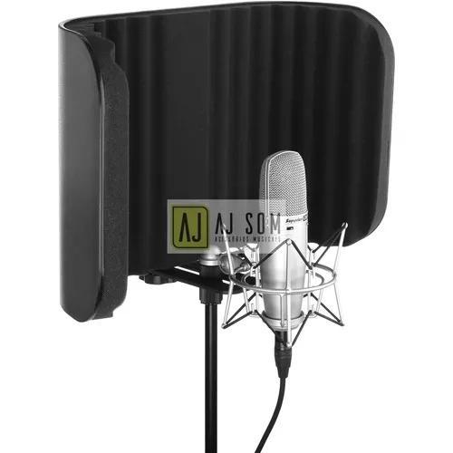 Difusor acústico para pedestal vocal booth reflection