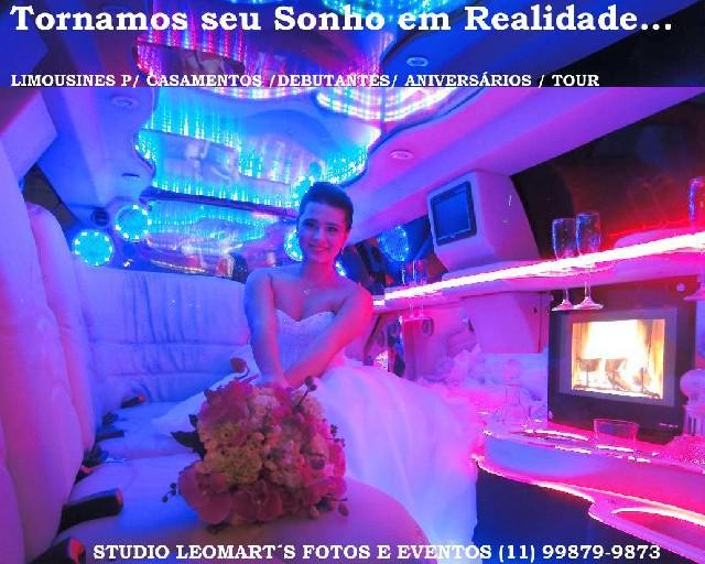Foto - filmagem para casamentos e limousines