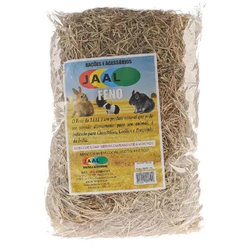 Alimento jaal para roedores feno - 500g