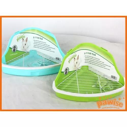 Banheiro de canto roedor - hamster p pawise