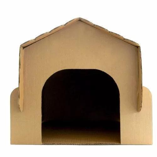 Casinha de papelao para coelho