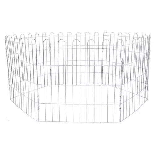 Cercado canil garde para cães cachorro coelho 6x60x60cm