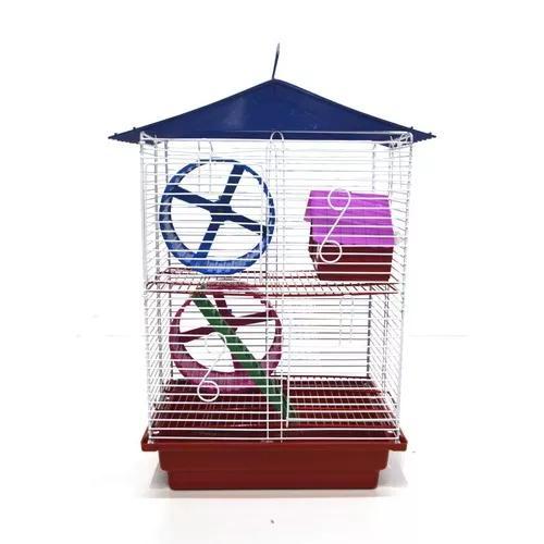 Gaiola hamster castelinho 2 andares