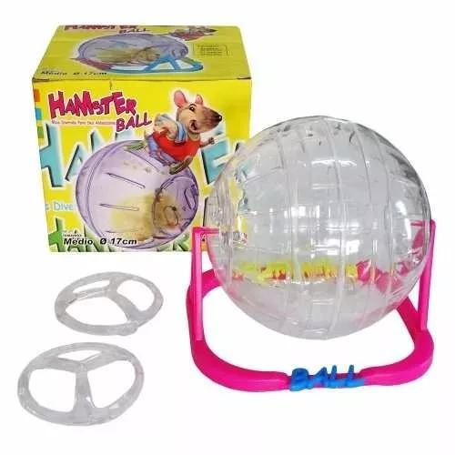 Hamster ball-rodinha para roedores, globo, brinquedo, gaiola