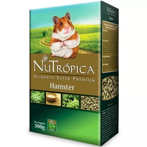 Nutrópica hamster. ração super pr