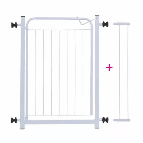 Portão para cachorros grade de proteção p/ portas +