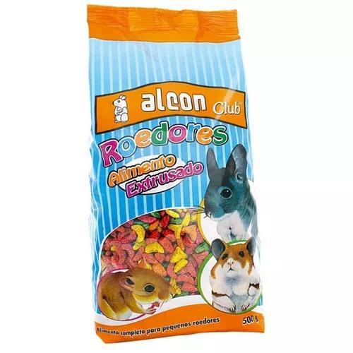 Ração alcon club roedores 500g extrusado hamster gerbil