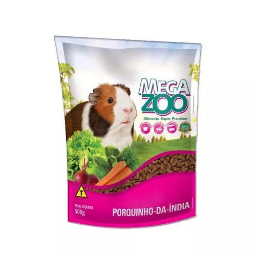 Ração megazoo para porquinho da índia adulto - 500 g