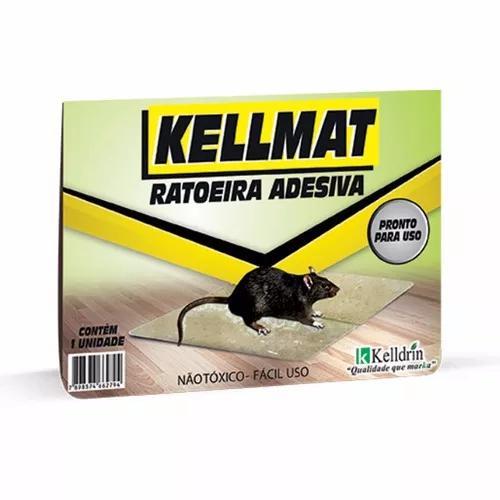 Ratoeira adesiva 1 caixas c/ 10 unidades