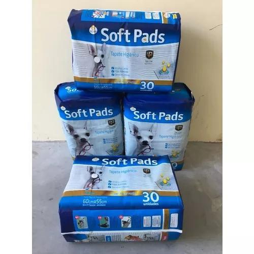 Tapete higienico soft pads 120 un promoção
