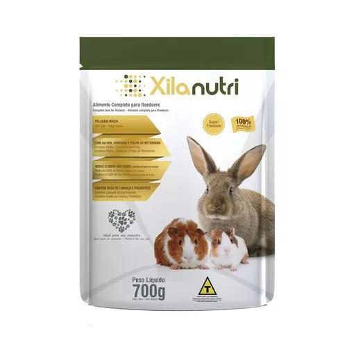 Xilanutri - ração para roedores - 700g