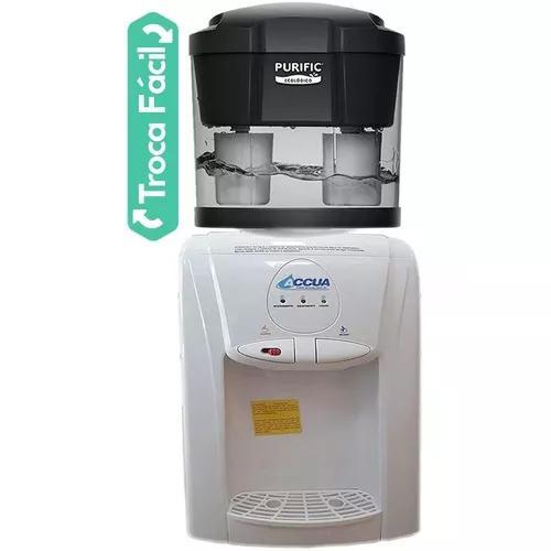 Bebedouro gelada quente + filtro ecológico