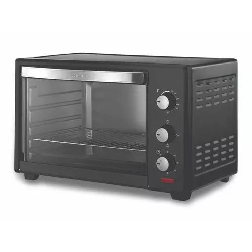 Forno elétrico c/ fogão com duas bocas 53 litros 220v
