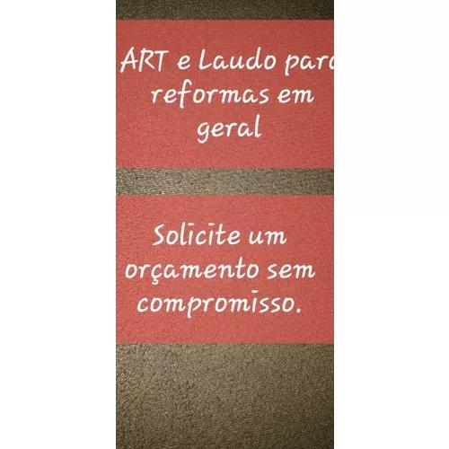 Art e laudo para reformas
