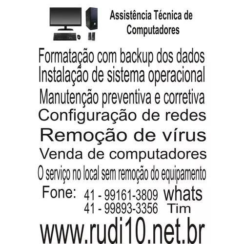 Assistência Técnica De Computadores