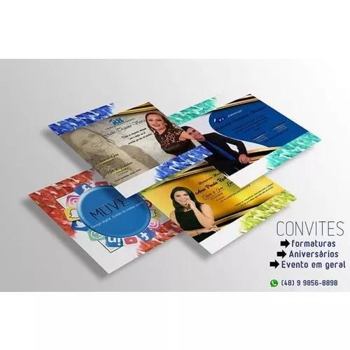 Convites digitais, cartão de visita, videos informativo