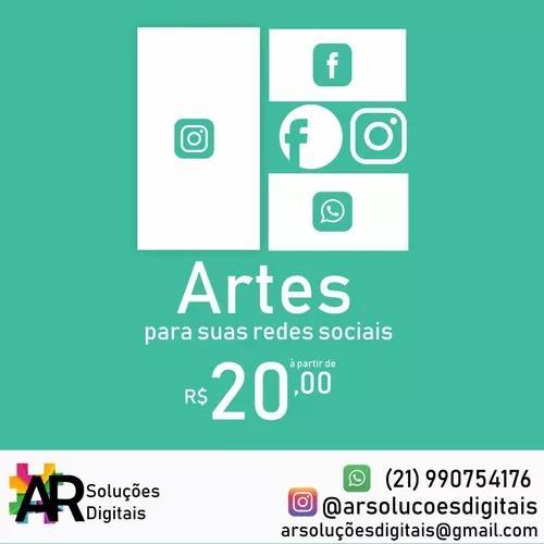 Criação de artes para redes sociais - post