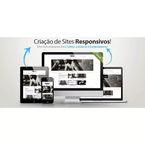 Criação de sites e blogs institucionais.