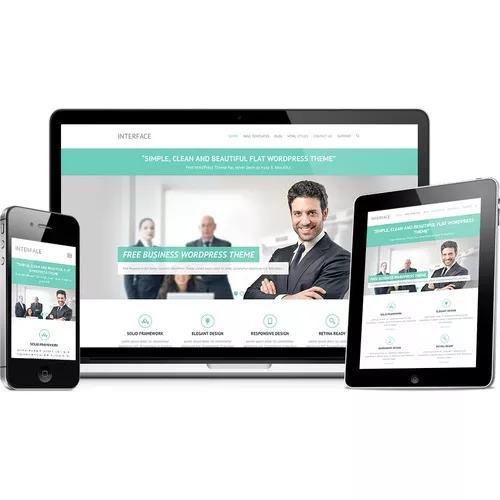 Criação de sites institucionais responsivo e moderno 7