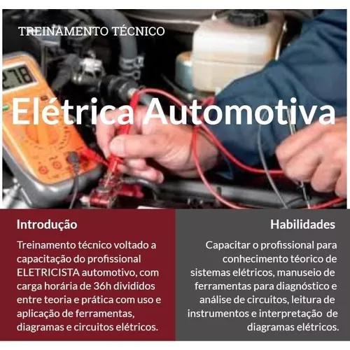 Curso eletricidade automotiva e eletricista de automóveis