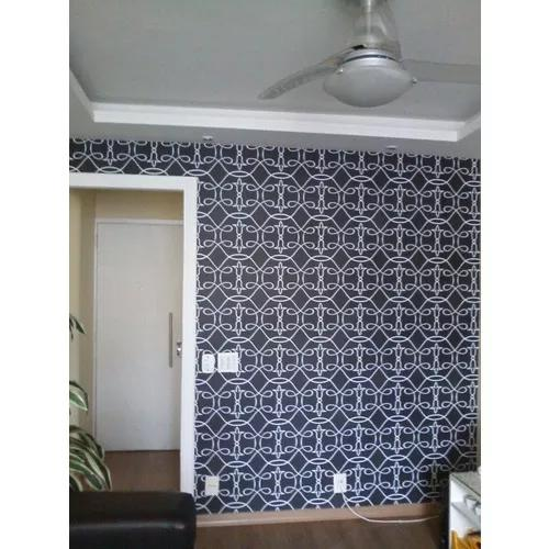 Instalador profissional de papel de parede