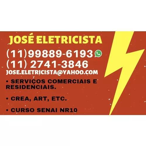 José - eletricista e pintor