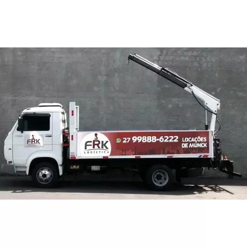 Locação de caminhão - munck - guindauto - muck - aluguel