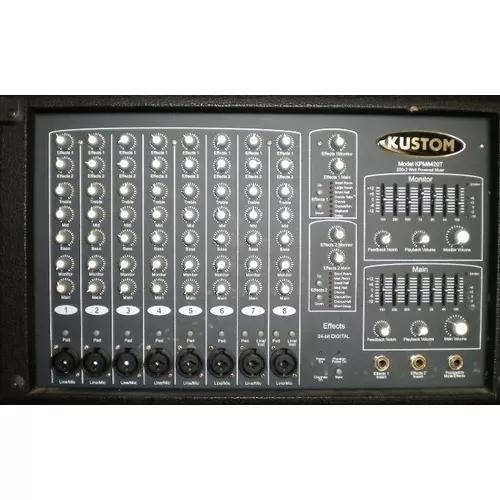 M audio pro 2626 e power mixer kustom!