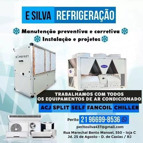 Manutacão e escalação de ar condicionado.