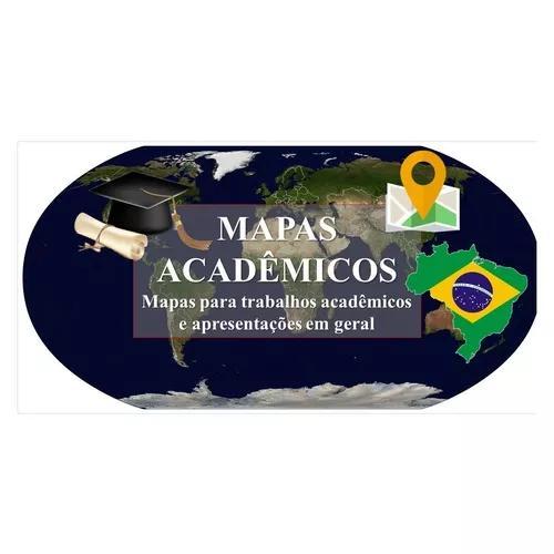 Mapas para trabalhos acadêmicos e apresentações