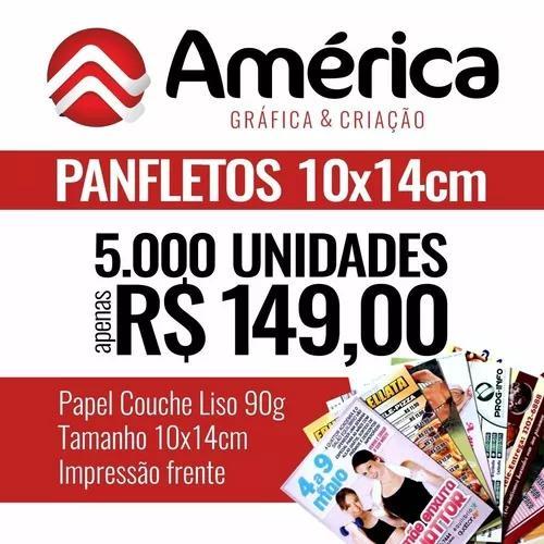 Promoção 5000 un - panfletos