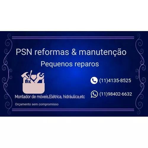 Psn reformas & manutenção pequenos reparos