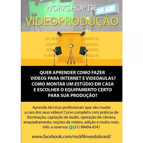 Quer aprender a fazer vídeos para internet?