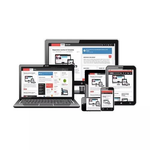 Site responsivo com gerenciador