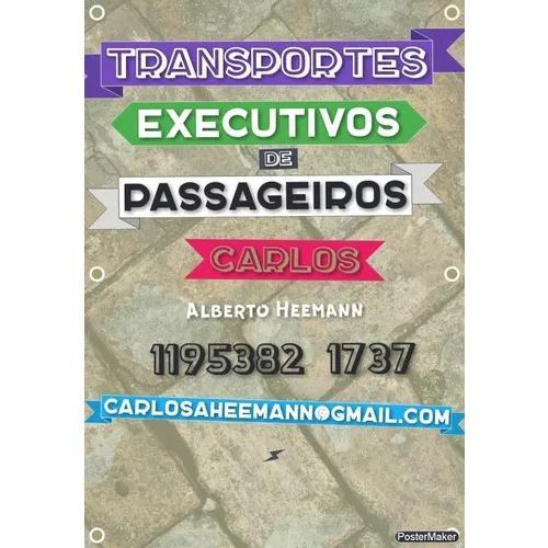 Transporte de executivos e passageiros