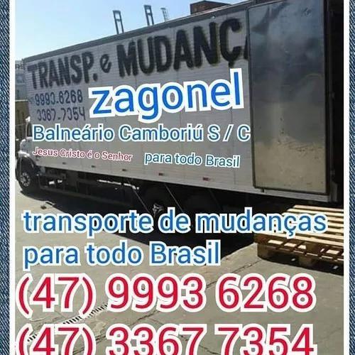 Transporte de mudanças, para todo brasil.