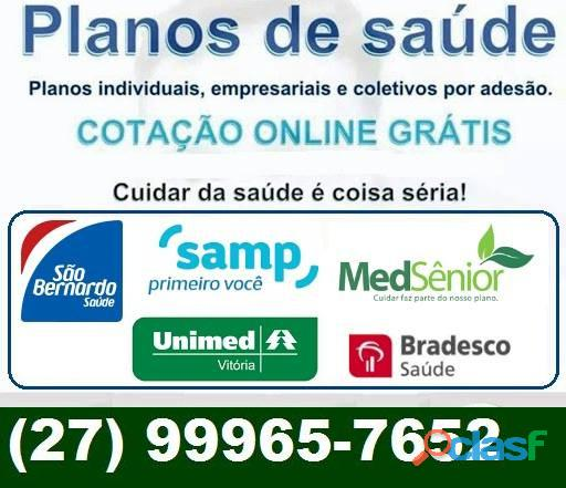 Planos de saúde es (27) 99965 7652