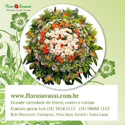 Belo horizonte coroas de flores floricultura bh
