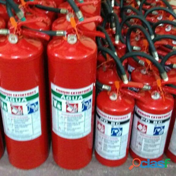 A recarga de extintores itaquera