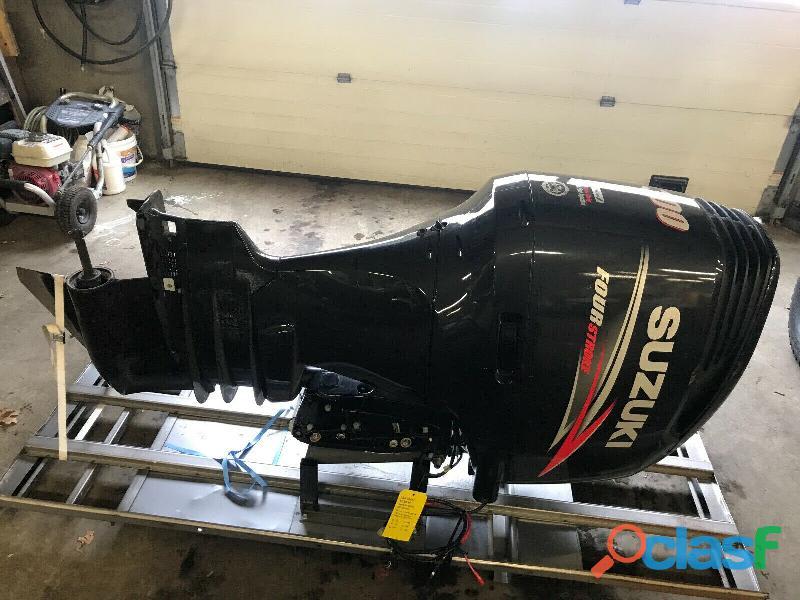 "2014 suzuki df300 300 hp 4 stroke 30"" outboard boat motor engine"